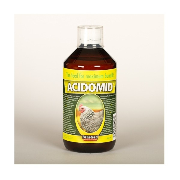 Acidomid drůbež 1l proti kokcidióze Acidomid drůbež
