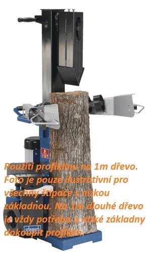 HL 1200s Scheppach - štípač na dřevo