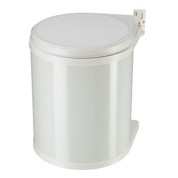 Hailo CZ Vestavný odpadkový koš Hailo 3555-001 Compact-Box 15 bílý lak 3555-001