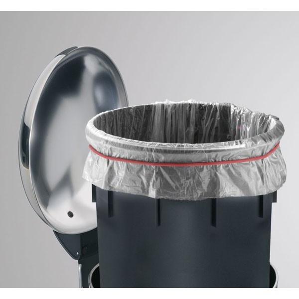 Nášlapný odpadkový koš Hailo TOPdesign 16 šedý 0516-369
