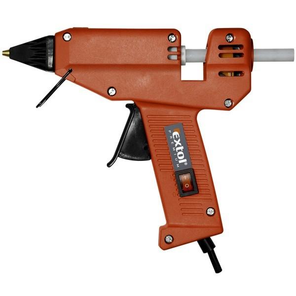 Extol Craft Pistole tavná lepící, 180W, 11mm, EXTOL PREMIUM, GG 180 E, 8899002 EXTOL PREMIUM 8899002